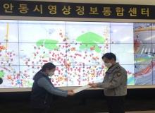 [안동]CCTV 관제요원, 절도범 검거 기여