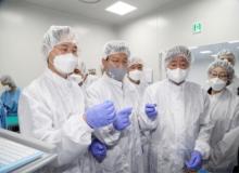 [안동]박진규 산업통상자원부 차관, 백신산업의 요람'안동 동물세포실증지원센터'방문